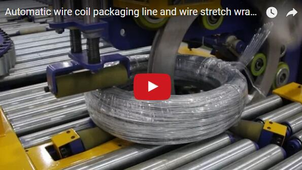 wire coil packing machine